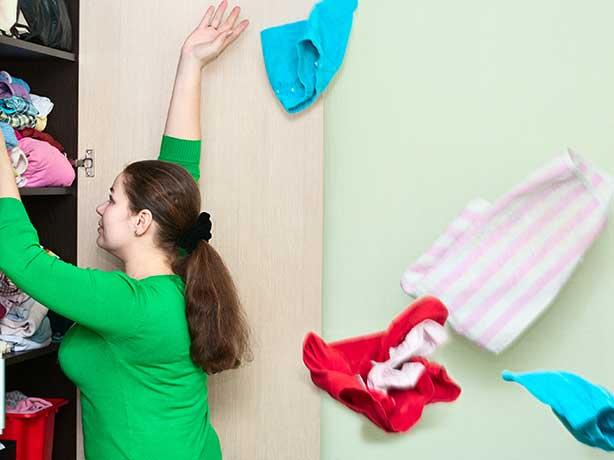 Comment ranger les vêtements